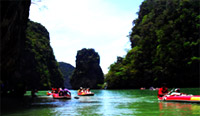 Private Speed Boat to Phangnga Bay- James Bond Island : JC Tour