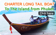 Charter Long Tail Boat to The Island from Phuket