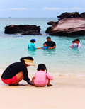 3 Eggs Island and Pearl Island Half Day Trip by JC Tour