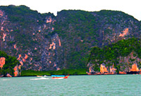 Charter Longtail Boat to Jamesbond Island : JC Tour