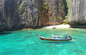 LONGTAIL AND BAY: PHI PHI ISLAND