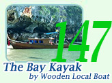 The Bay Kayak by Wooden Local Boat
