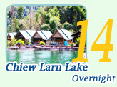 Chiew Larn Lake Overnight