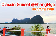 Classic Sunset at PhangNga Bay