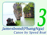 James Bond Canoe by Speed Boat