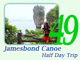 Jamesbond Canoe Half Day
