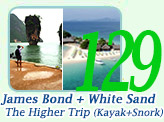Jamesbond and Khai Island by Speed Boat