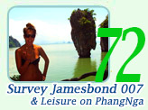 Survey James Bond 007  Leisure on Phang Nga Bay