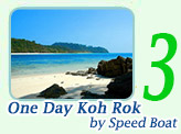 One Day Tour Koh Rok by Speed Boat
