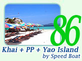 Khai and PP and Yao Island by Speed Boat