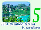 PP Island + Bamboo Island by Speed Boat