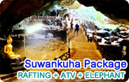 Suwankuha Package Rafting ATV Elephant
