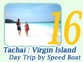 Tachai Virgin Island Day Trip by Speed Boat