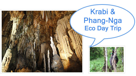 Krabi and Phang-Nga Eco Day Trip